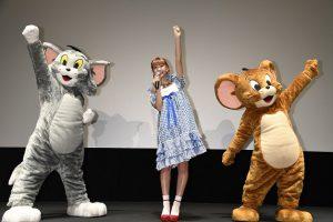 『トムとジェリー すくえ!魔法の国オズ』初日舞台挨拶 (2)