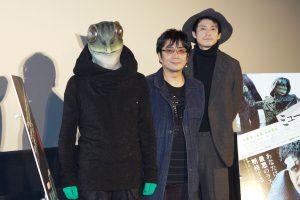 カエル男、大友啓史監督、小栗旬