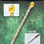 """""""昆虫が封じ込められた琥珀""""を再現!―『ジュラシック・パーク』でジョン・ハモンドが使用する""""杖""""がボールペンに!"""