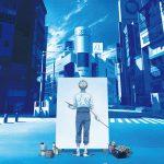 早朝の渋谷のスクランブル交差点でキャンバスと向き合う主人公・矢口八虎の姿…―TVアニメ『ブルーピリオド』〈ティザービジュアル〉解禁