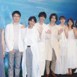 """""""悲観主義の七草""""を演じる横浜流星、自身については「僕は二面性を持っています」―『いなくなれ、群青』完成披露試写会にキャスト集結"""