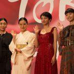 第30回東京国際映画祭レッドカーペットに多くのゲストが次々と登場