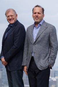 左から、ロバート・ゼメキス監督、ジャック・ラプキープロデューサー
