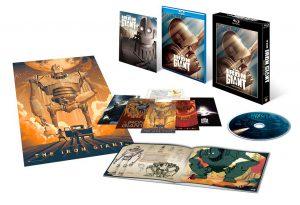 『【Amazon.co.jp限定】アイアン・ジャイアント シグネチャー・エディション Blu-ray スペシャル・セット(1000セット数量限定生産)』商品展開図
