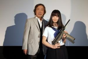 『セーラー服と機関銃 -卒業-』福岡舞台挨拶 (2)