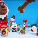 ペットたちのクリスマス撮影をのぞき見!「ペット」特別映像公開!