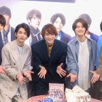 渡邊圭祐、バレンタインのエピソード披露のはずが「謝罪会見になってる(笑)」―『チーム・ハンサム! POP UP STORE』オープン記念取材会