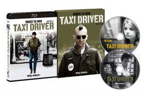 『タクシードライバー 40周年アニバーサリー・エディション』【初回生産限定】 ブルーレイ パッケージ