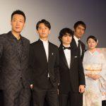 中国語で演じる染谷に共演のホアン「尊敬の念を抱いています」―『空海―KU-KAI―』舞台挨拶にキャストが登壇