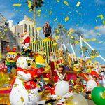 ミニオンパークが初のクリスマスデコレーション!―USJ『ユニバーサル・ワンダー・クリスマス』「ミニオン・ハチャメチャ・クリスマス・パーティ」開催