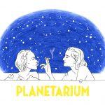 WALNUTと石川三千花がナタリー&リリー=ローズを描き、美しくも儚い世界観を見事に表現!―『プラネタリウム』コラボイラスト解禁