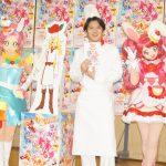 """スイーツ好きになるきっかけは""""あまりにもまずいチョコレートケーキ""""―『映画キラキラ☆プリキュアアラモード』公開アフレコに尾上松也が登壇!"""