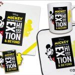 『ミッキーマウス展』公式ショップではオリジナルグッズ約200点を含む400点以上のグッズを販売