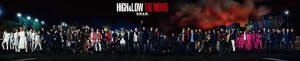 『HiGH&LOW THE MOVIE』キャスト62名横一列ビジュアル