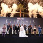 『エターナルズ』ワールドプレミアに豪華キャスト&クロエ・ジャオ監督らが集結!アンジェリーナ・ジョリー、日本のファンに向けて「愛を送ります」とメッセージ