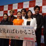 共演者からのいじりに髙橋優斗「愛のある現場だと思いました」―『連続ドラマW 彼らを見ればわかること』完成披露試写会