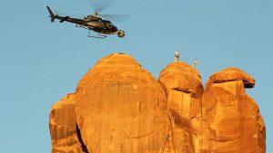 『アメリカ・ワイルド』メイキング(ヘリコプター)