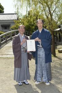 『超高速!参勤交代 リターンズ』佐々木蔵之介・京都国際観光大使