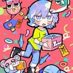 東宝×人気イラストレーター・寺田てらがタッグを組んだ新キャラクター「ジャンクモール」発表