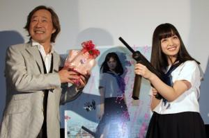 『セーラー服と機関銃 -卒業-』福岡舞台挨拶 (3)