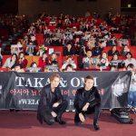 """2人が韓国語で""""サランヘヨ!""""―『HiGH&LOW THE RED RAIN』韓国プレミアにTAKAHIRO、登坂広臣登壇!"""