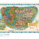 世界のディズニーパークの地図やラフスケッチ、コンセプトアートなどを収録した資料集『世界のディズニーパーク絵地図 夢の国をつくるための地図と原画』発売