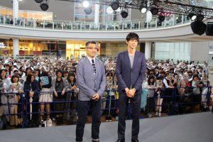 左から、豊島圭介監督、東出昌大