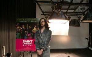 『SAINT LAURENT/サンローラン』栗原類インスパイア・ポスター メイキング (7)