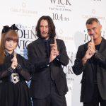 日本から影響を受けた本作に、キアヌ「作品としてみなさまにお返しできることは大変うれしい」―『ジョン・ウィック:パラベラム』ジャパンプレミア実施