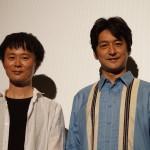 石丸幹二がチャップリンの扮装で公開記念イベントに登壇!