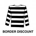 アニエスベーから特製Tシャツと1ドリンクプレゼント&ボーダー割実施!